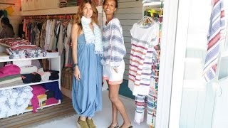 Liya Kebede - Introducing Ethiopian traditionally woven clothes to New York's fashion market