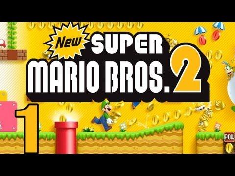 New Super Mario Bros. 2 : Let's Play New Super Mario Bros. 2 Part 1