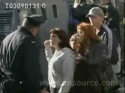 Original News Footage Of Holy Cross Dispute 2001 video