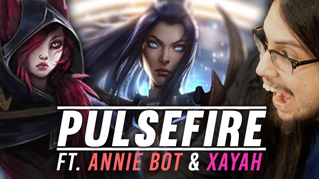 Imaqtpie - PULSEFIRE CAITLYN & XAYAH GOD ft. Annie Bot