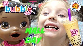 BABY ALIVE has a FUN DAY at the MALL! The Lilly and Mommy Show. The TOYTASTIC Sisters