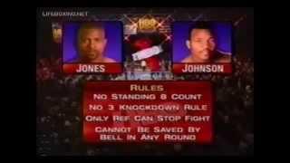 БОЙ-41!!!!!  Рой Джонс- Реджи Джонсон (05.06.1999)