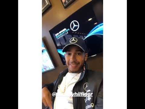 Formula One Race Driver Lewis Hamilton Designing His Clothing Collections