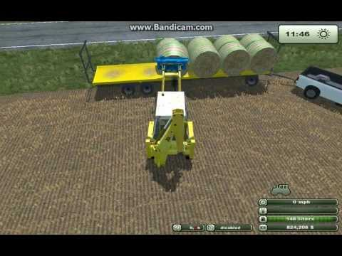 Farming Simulator 2013 Loading Bales