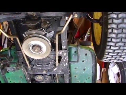 Repairing the Steering on the John Deere LA175