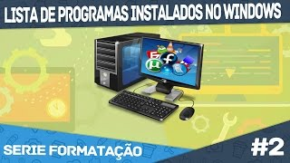 Como Salvar a Lista de Programas Instalados no Windows | Ezec Tech