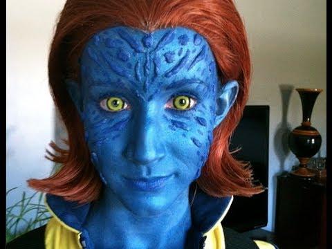 Avatar Face Paint Male