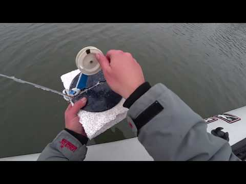 Льда всё нет,но жерлицы поставили,зимняя рыбалка 2018