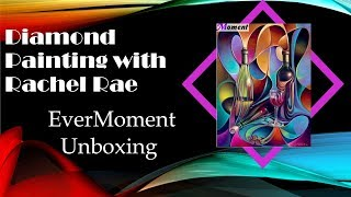 First EverMoment Canvas! UNBOXING - Diamond Painting