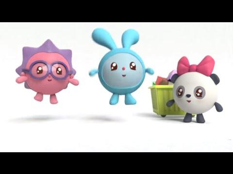 Малышарики - Лошадка - Уборка игрушек - серия 24 - обучающие мультфильмы для малышей 0-4
