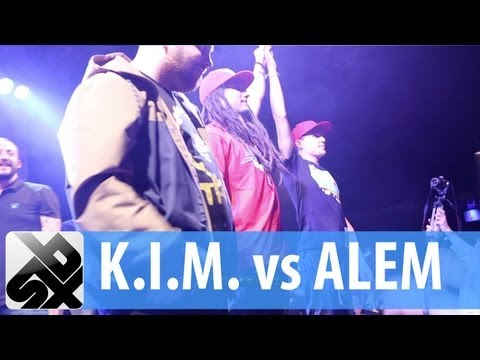 K.I.M. vs ALEM  |  French Beatbox Championship '13   |   FINAL