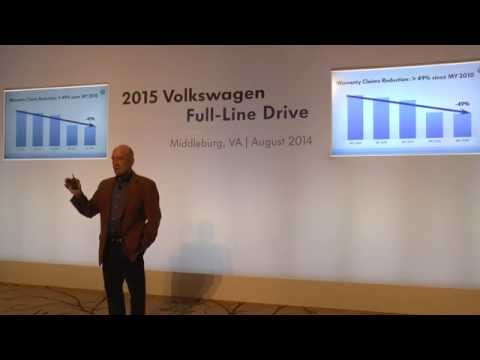 2015 VW Full Line Media Drive, Sales