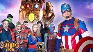 AVENGERS ENDGAME - Captain America Returns the Infinity Stones - Epic Parody! The Sean Ward Show