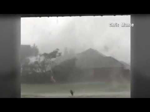 Norman Oklahoma Tornado from Inside Shelter! 5-6-15