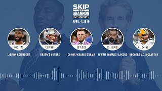 UNDISPUTED Audio Podcast (04.04.19) with Skip Bayless, Shannon Sharpe & Jenny Taft | UNDISPUTED