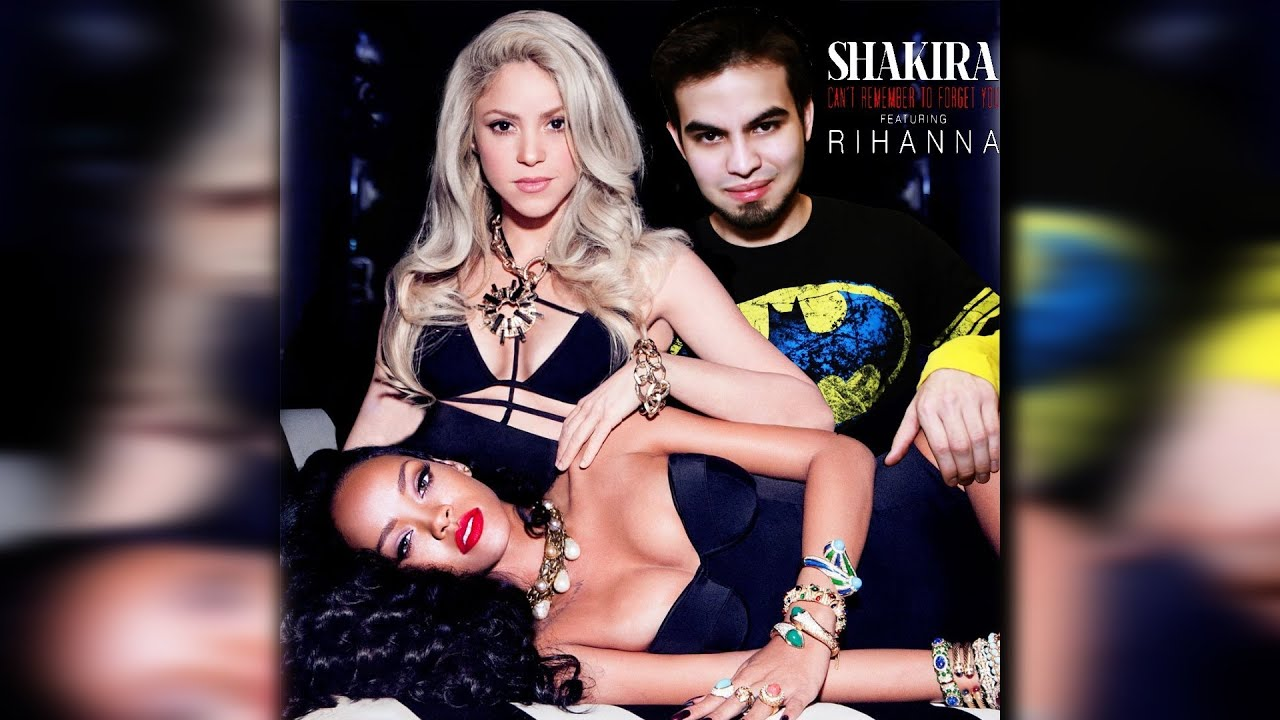 Shakira ft rihanna cant remember to forget you - 5 8