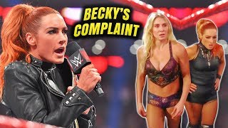 BECKY LYNCH CALLS OUT WWE! Becky Lynch Extremely UNHAPPY with WWE Over Serious Issue w/ Executives!