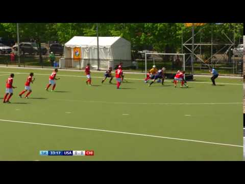 USA 0-0 CHI Chile so close early on, hitting the post and can't convert the rebound #JrPanam2016