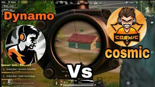 Dynamo vs Cosmic squad || Dynamo killed cosmic team