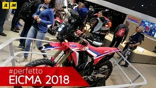 Honda CRF 450 L Rally - EICMA 2018 [ENGLISH SUB]