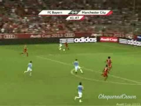 Samir Nasri vs FC Bayern Munich (Pre-season) [01.08.13] By ChequeredCrown