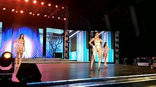 Khánh Ngân trình diễn Bikini đêm bán kết Miss Globe 2017