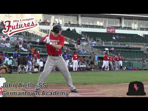 John Aiello Prospect Video, SS, Germantown Academy Class of 2015 #mlbdraft #pgnational