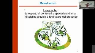 Webinar Metodi attivi di insegnamento. A cura di Muscella, Chirico, Fayyaz