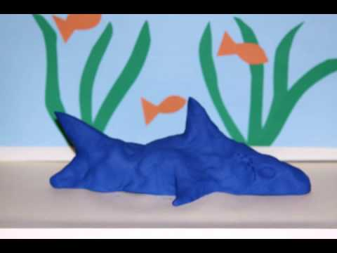 PLAY-DOH Shark! Makeables DIY, How to Make Your Own