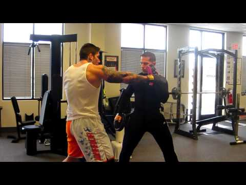 Fat loss Lifestyle's Darin Steen Trains Client For MMA Fight