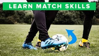 5 Football Skills You Can Use in a Match
