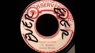 Watch Dennis Brown Tribulation video