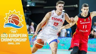 LIVE - Spain v Germany - FIBA U20 European Championship 2019