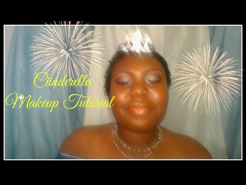 1994 Cinderella  (Brandy inspired) Halloween Makeup tutorial #8