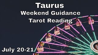 ♉ Taurus weekend tarot 📚 | Get clear. Make a review. Write is out. It's time. | July 20-21