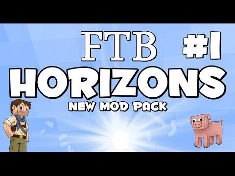 ★ Minecraft FTB Horizons ★ NEW MOD PACK Ep 1