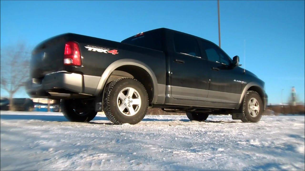 2010 Dodge Ram 1500 Winter Fun Youtube