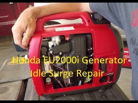 Honda EU2000i Generator Bad Idle Repair