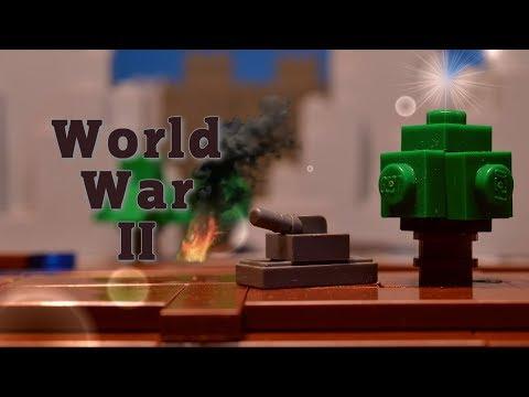 LEGO WW2 Stop Motion | Microscale