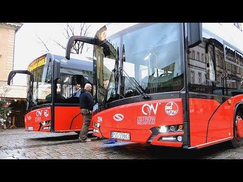 Elektryczne autobusy w Ostrowie Wielkopolskim