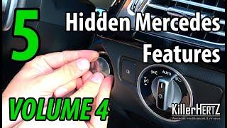 5 Hidden Mercedes functions, tricks & features - Vol 4