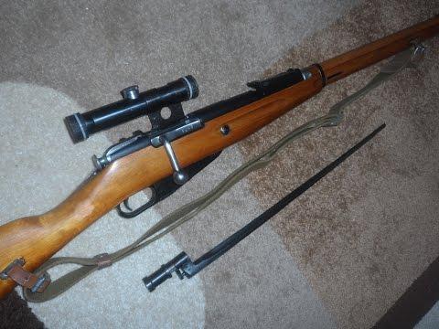 Кучность винтовки Мосина с ДТК, со штыком,  и без него ... !!