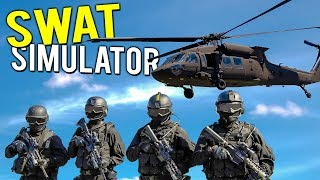 BECOMING THE SWAT TEAM! RIDICULOUS MULTIPLAYER POLICE TACTICS - Door Kickers Action Squad Gameplay