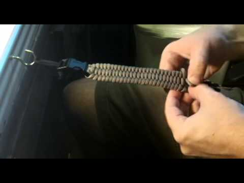 Rock Paracord - How to Make a Paracord Watchband