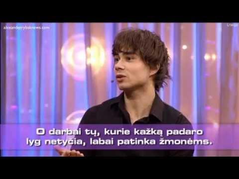 "Alexander Rybak - Lithuanian show ""KK2 penktadienis"" 17.02.2015."