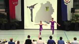 Johanna Süß & Franz Rothballer - LM Baden-Württemberg & Hessen 2015
