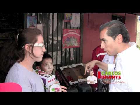 Carlos Iriarte en Montón Cuarteles y Pirules, Huixquilucan