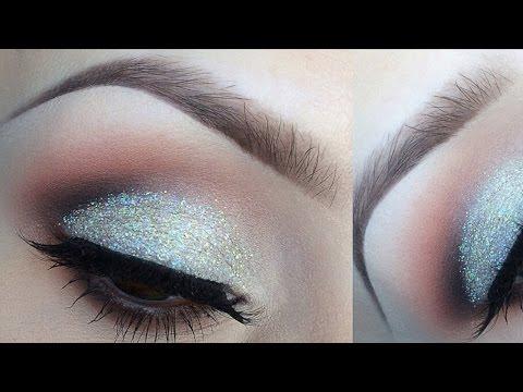 Mermaid makeup tutorial halloween glitter