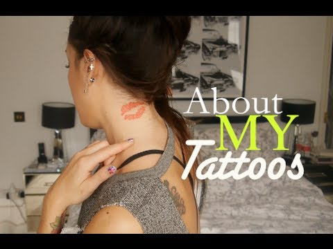 About My Tattoos! | SoTotallyVlog