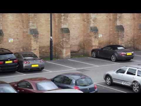 Nissan GT-R + Jaguar XKR Convertible Combo!!